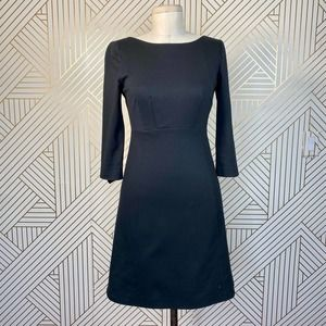 Moschino Cheap and Chic Classic Black A-Line Dress